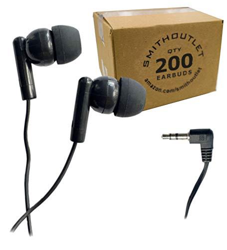 海外輸入ヘッドホン ヘッドフォン イヤホン 海外 輸入 SG-ID2-200 SmithOutlet 200 Pack Classroom Student Testing Headphones Earbuds in Bulk海外輸入ヘッドホン ヘッドフォン イヤホン 海外 輸入 SG-ID2-200