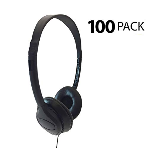 海外輸入ヘッドホン ヘッドフォン イヤホン 海外 輸入 Encore ENC-313 Classroom Testing Stereo Headphones with Leatherette Earpads - 100 Pack海外輸入ヘッドホン ヘッドフォン イヤホン 海外 輸入