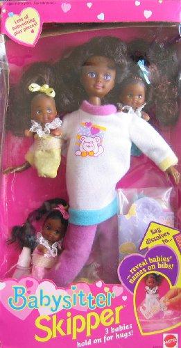 バービー バービー人形 チェルシー スキッパー ステイシー 12072 Barbie Babysitter Skipper Doll AA w 3 Babies (1994)バービー バービー人形 チェルシー スキッパー ステイシー 12072