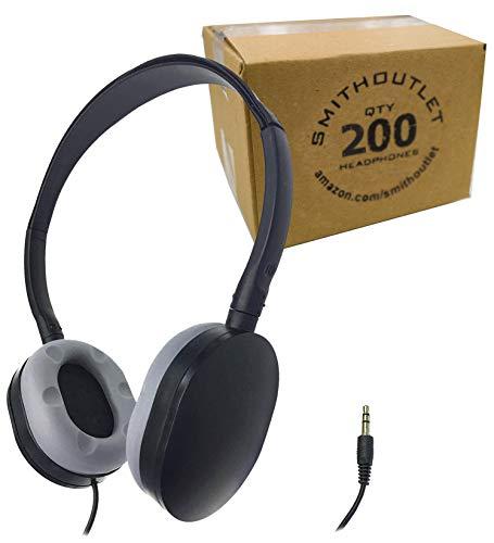 海外輸入ヘッドホン ヘッドフォン イヤホン 海外 輸入 ID55 SmithOutlet 200 Pack Rubber Earpad Stereo Headphones in Bulk海外輸入ヘッドホン ヘッドフォン イヤホン 海外 輸入 ID55