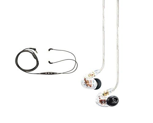 海外輸入ヘッドホン ヘッドフォン イヤホン 海外 輸入 SE535CL CBL-M+-K Shure SE535-CL Earphones, CBL-M+-K-EFS Music Phone Cable with Remote and Mic for iPhone, iPod and iPad 海外輸入ヘッドホン ヘッドフォン イヤホン 海外 輸入 SE535CL CBL-M+-K