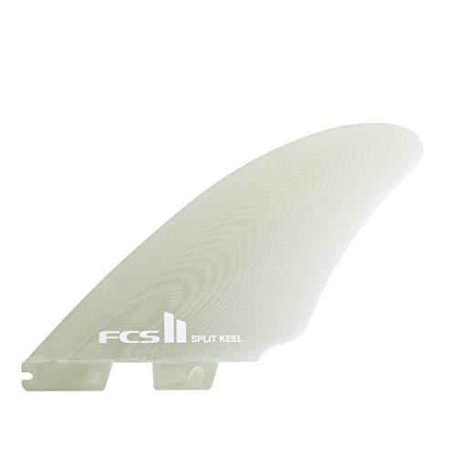 サーフィン フィン マリンスポーツ FCS Ii Performance Glass Split Keel Quad Fin One Size Clearサーフィン フィン マリンスポーツ