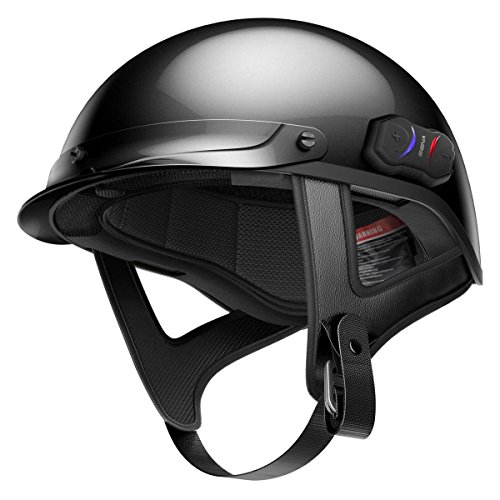 海外輸入ヘッドホン ヘッドフォン イヤホン 海外 輸入 COMINU086626 Sena Cavalry Black Bluetooth Half Helmet - Small海外輸入ヘッドホン ヘッドフォン イヤホン 海外 輸入 COMINU086626
