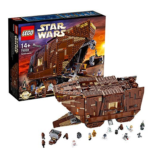 レゴ スターウォーズ 【送料無料】LEGO Lego Star Wars Sand Naru crawler episode 4 new hope Star Wars Sandcrawler Products Episodes 75059レゴ スターウォーズ