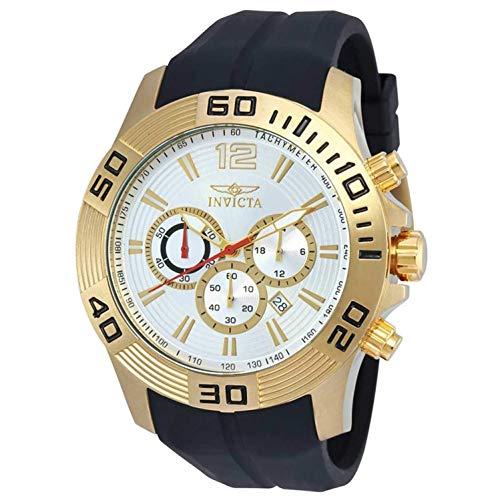 インヴィクタ インビクタ プロダイバー 腕時計 メンズ 20301 【送料無料】Invicta Pro Diver Chronograph Silver Dial Black Silicone Mens Watch 20301インヴィクタ インビクタ プロダイバー 腕時計 メンズ 20301