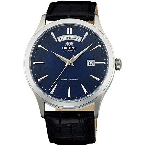 オリエント 腕時計 メンズ FEV0V003DH ORIENT MEN'S 42MM BLACK LEATHER BAND STEEL CASE AUTOMATIC WATCH FEV0V003DHオリエント 腕時計 メンズ FEV0V003DH