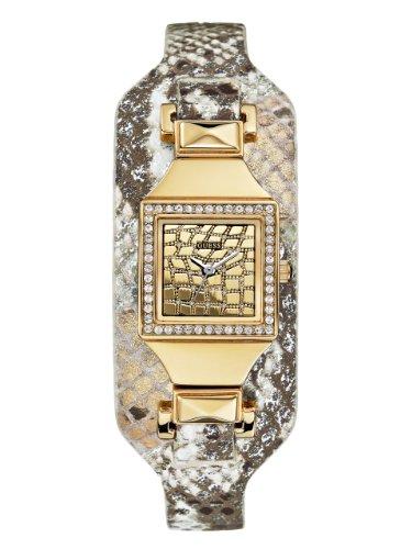 ゲス GUESS 腕時計 レディース U0225L2 GUESS Womens Gold-Tone Embossed Cuff Watchゲス GUESS 腕時計 レディース U0225L2