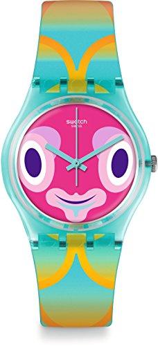 スウォッチ 腕時計 レディース GL120 Swatch Originals Mr Blubby Multicolored Dial Plastic Strap Unisex Watch GL120スウォッチ 腕時計 レディース GL120