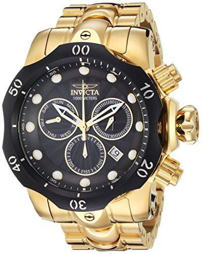 インヴィクタ インビクタ ベノム 腕時計 メンズ 23892 Invicta Men's Venom Quartz Watch with Stainless-Steel Strap, Gold, 26 (Model: 23892)インヴィクタ インビクタ ベノム 腕時計 メンズ 23892