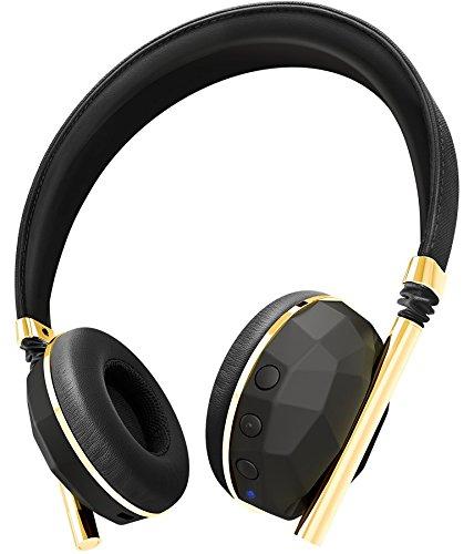 海外輸入ヘッドホン ヘッドフォン イヤホン 海外 輸入 CAE30101 Caeden Linea N°10 Wireless Bluetooth Headphone - Faceted Carbon & Gold海外輸入ヘッドホン ヘッドフォン イヤホン 海外 輸入 CAE30101