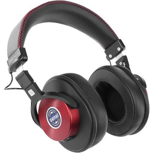 海外輸入ヘッドホン ヘッドフォン イヤホン 海外 輸入 SMH-1200-BU Senal SMH-1200 - Enhanced Studio Monitor Headphones (Burgundy) -海外輸入ヘッドホン ヘッドフォン イヤホン 海外 輸入 SMH-1200-BU