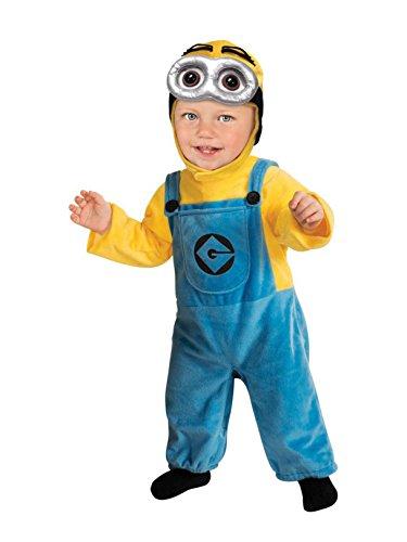 コスプレ衣装 コスチューム ミニオンズ 886672INFT Rubie's Despicable Me 2 Minion Romper, Blue/Yellow, 6-12 Monthsコスプレ衣装 コスチューム ミニオンズ 886672INFT