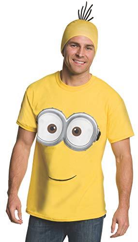 コスプレ衣装 コスチューム ミニオンズ 810785 【送料無料】Rubie's Men's Minion Costume T-Shirt, Yellow, Mediumコスプレ衣装 コスチューム ミニオンズ 810785