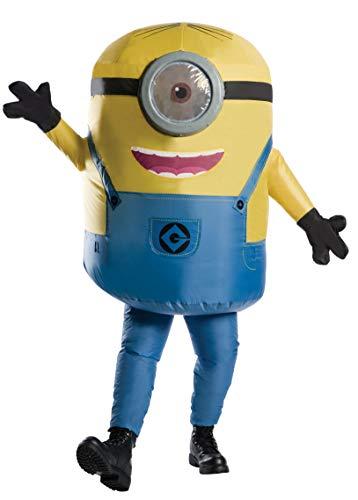 コスプレ衣装 コスチューム ミニオンズ 810585 【送料無料】Rubie's Men's Minions Inflatable Minion Stuart Costume, Yellow, Standardコスプレ衣装 コスチューム ミニオンズ 810585