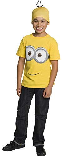 コスプレ衣装 コスチューム ミニオンズ 620289_L 【送料無料】Rubie's Minion Child's Shirt and Head Piece, Largeコスプレ衣装 コスチューム ミニオンズ 620289_L