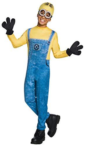 コスプレ衣装 コスチューム ミニオンズ 630724_M Rubie's Costume Despicable Me 3 Child's Dave Minion Costume, Multicolor, Mediumコスプレ衣装 コスチューム ミニオンズ 630724_M