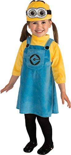 コスプレ衣装 コスチューム ミニオンズ Rubie's R886440 Girls 2-4 Toddler Minion Costume Girlコスプレ衣装 コスチューム ミニオンズ