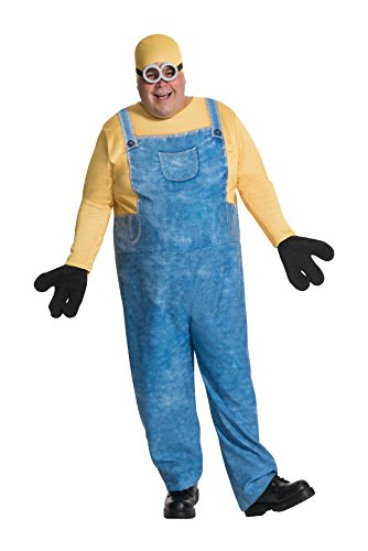 コスプレ衣装 コスチューム ミニオンズ 17990 【送料無料】Rubie's Men's Minion Bob Plus-Size Costume, Multi, One Sizeコスプレ衣装 コスチューム ミニオンズ 17990