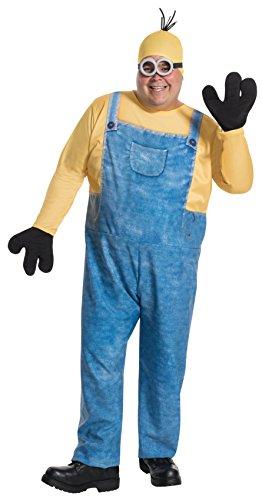 コスプレ衣装 コスチューム ミニオンズ 17849 【送料無料】Rubie's Men's Minion Kevin Plus Size Costume, Multi, One Sizeコスプレ衣装 コスチューム ミニオンズ 17849