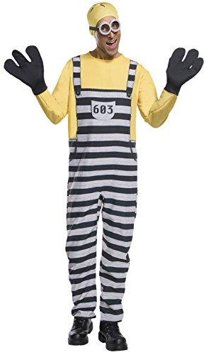 コスプレ衣装 コスチューム ミニオンズ 820581 【送料無料】Rubie's Men's Despicable Me 3 Jail Minion Tom Costume, As Shown, Extra-Largeコスプレ衣装 コスチューム ミニオンズ 820581