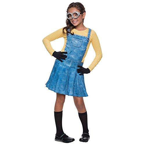 コスプレ衣装 コスチューム ミニオンズ 【送料無料】Rubie's Female Minion Child Costume - Smallコスプレ衣装 コスチューム ミニオンズ