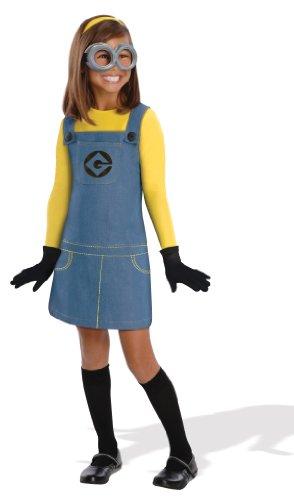 コスプレ衣装 コスチューム ミニオンズ 886972 Despicable Me 2 Deluxe Girls Minion Costume, Mediumコスプレ衣装 コスチューム ミニオンズ 886972