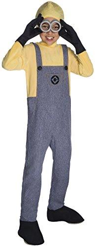 コスプレ衣装 コスチューム ミニオンズ 630848 Rubie's Costume Boys Despicable Me 3 Deluxe Minion Dave Costume, Large, Multicolorコスプレ衣装 コスチューム ミニオンズ 630848