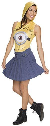 コスプレ衣装 コスチューム ミニオンズ 810782 【送料無料】Rubie's Women's Minion Face Hooded Costume Dress, Yellow, Largeコスプレ衣装 コスチューム ミニオンズ 810782