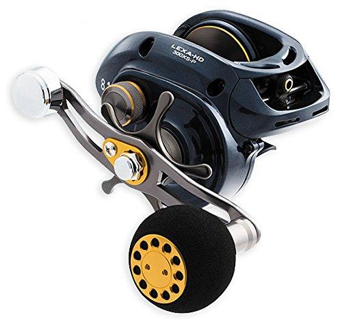 リール Daiwa ダイワ 釣り道具 フィッシング 400HS-P Daiwa LEXA-HD400HS-P Lexa Type-HD Baitcasting Reel, 400 High Speed, 7.1: Gear Ratio, 6CRBB, 1RB Bearings, 25 lb Max Drag, RHリール Daiwa ダイワ 釣り道具 フィッシング 400HS-P
