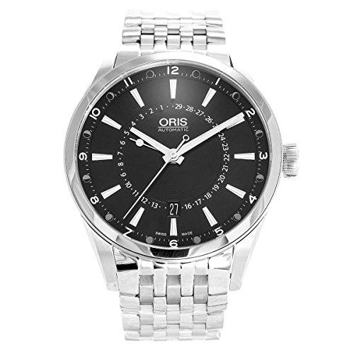 オリス 腕時計 メンズ 761-7691-4054-MB Oris Artix Pointer Moon Black Dial Stainless Steel Mens Watch 761-7691-4054MBオリス 腕時計 メンズ 761-7691-4054-MB, キャリーバッグ通販のMM-COMPANY 6276c131