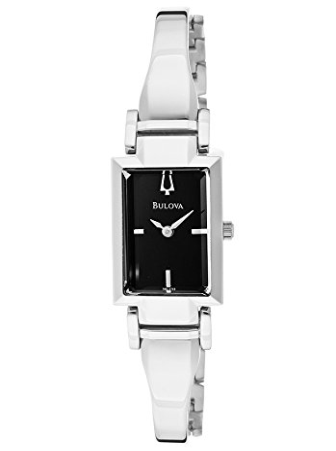 ブローバ 腕時計 レディース BUL-96L138 Bulova Women's BUL-96L138 Dress Silver-Tone/Black Stainless Steel Watchブローバ 腕時計 レディース BUL-96L138