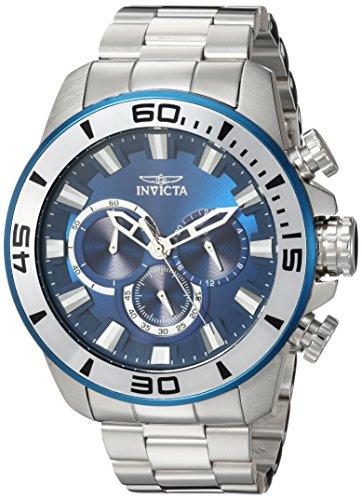 インヴィクタ インビクタ プロダイバー 腕時計 メンズ 22586 Invicta Men's Pro Diver Analog-Quartz Watch with Stainless-Steel Strap, Silver, 10 (Model: 22586)インヴィクタ インビクタ プロダイバー 腕時計 メンズ 22586