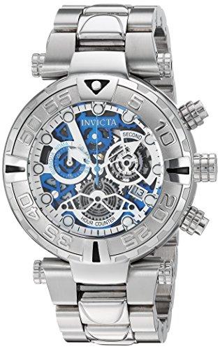 インヴィクタ インビクタ サブアクア 腕時計 メンズ 24986 Invicta Men's Subaqua Quartz Watch with Stainless-Steel Strap, Silver, 26 (Model: 24986)インヴィクタ インビクタ サブアクア 腕時計 メンズ 24986