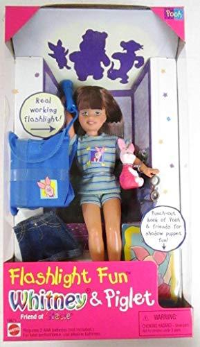 バービー バービー人形 チェルシー スキッパー ステイシー 19671 【送料無料】Barbie - Flashlight Fun WHITNEY & Piglet, Friend of Stacie Doll (1997)バービー バービー人形 チェルシー スキッパー ステイシー 19671