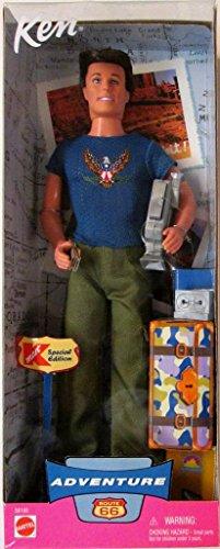 【新作からSALEアイテム等お得な商品満載】 バービー バービー人形 ケン バービー Ken【送料無料】Barbie Ken Adventure Ken Route ケン 66 Dollバービー バービー人形 ケン Ken, Ambitious:d451ccd8 --- bungsu.net