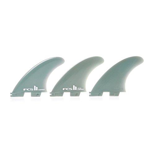 サーフィン フィン マリンスポーツ FCS II Carver Glass Flex Thruster Fin Large Blueサーフィン フィン マリンスポーツ