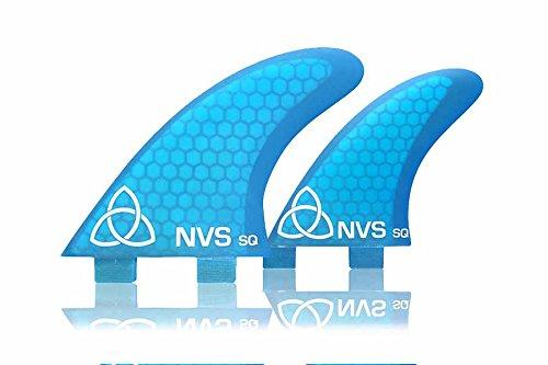 サーフィン フィン マリンスポーツ Naked Viking Surf Medium NV-Quad Surfboard Fins (Set of 4) Blue, FCSサーフィン フィン マリンスポーツ