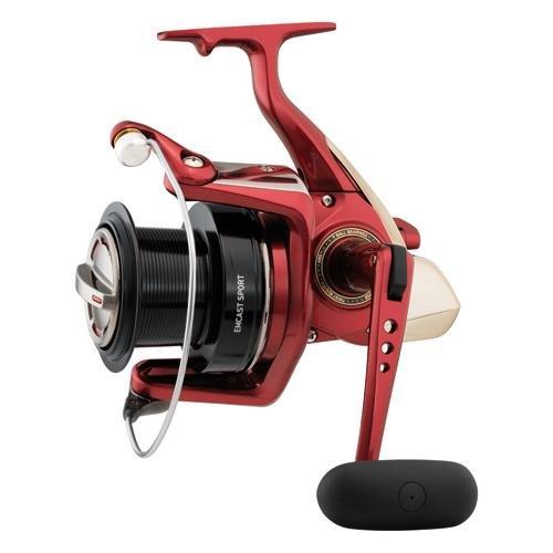 リール Daiwa ダイワ 釣り道具 フィッシング EMCS5000A Daiwa EMCS5000A Emcast Sport Test Saltwater Spinning Fishing Reel, 14-20 lb, Redリール Daiwa ダイワ 釣り道具 フィッシング EMCS5000A