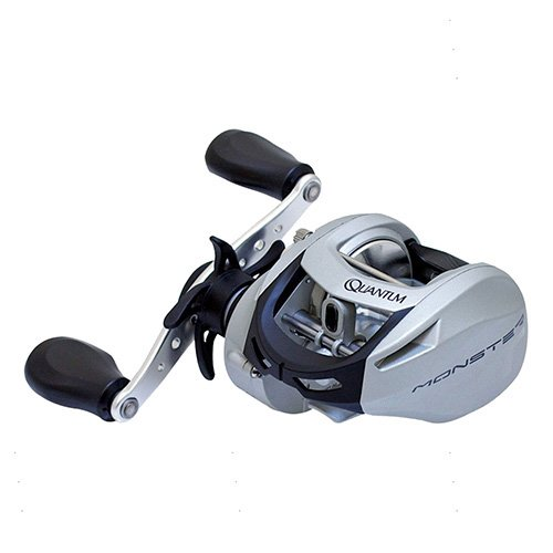 リール Quantum 釣り道具 フィッシング MO300SPTBX3 Zebco/Quantum, Monster Baitcast Reel, 6.4:1 Gear Ratio, 28