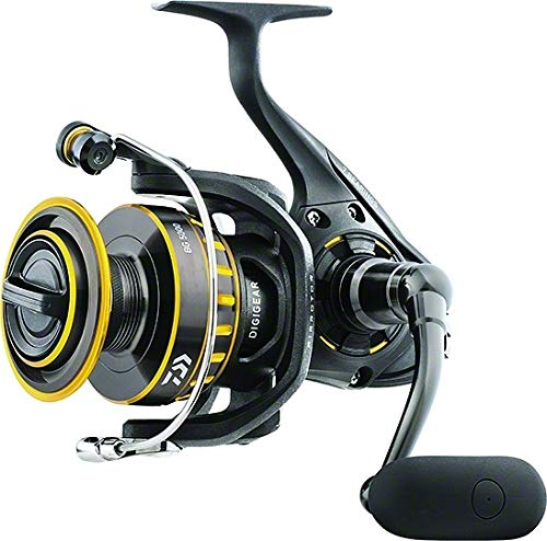 リール Daiwa ダイワ 釣り道具 フィッシング BG8000 Daiwa BG8000 BG Saltwater Spinning Reel, 8000, 5.3: 1 Gear Ratio, 6+1 Bearings, 53.30