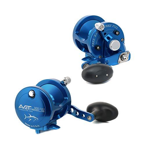 リール AVET 釣り道具 フィッシング MXL6/4LH-SI Avet 2-Speed Reel, Silver, Leftリール AVET 釣り道具 フィッシング MXL6/4LH-SI