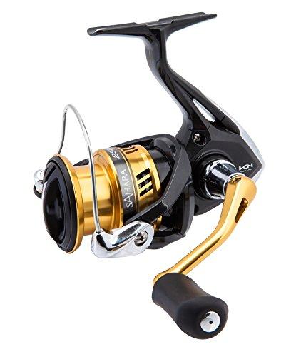 リール Shimano シマノ 釣り道具 フィッシング Shimano Sahara 2500 HGS FI Spinning Fishing Reel with Shallow Spool, SH2500HGSFIリール Shimano シマノ 釣り道具 フィッシング
