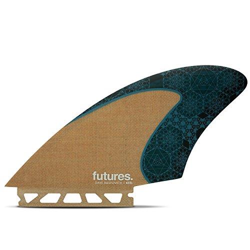 サーフィン フィン マリンスポーツ 【送料無料】Futures Fins - VF Rasta HC KEEL - Jute/Tealサーフィン フィン マリンスポーツ