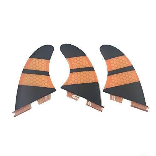 サーフィン フィン マリンスポーツ 夏のアクティビティ特集 UPSURF Surfboard Fins FCS2 K2.1 Size Base Carbon Surfing Thruster (Orange)サーフィン フィン マリンスポーツ 夏のアクティビティ特集