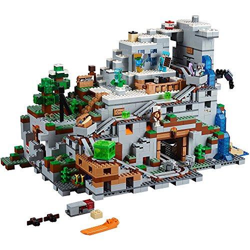【送料無料】レゴ (LEGO) MINECRAFT マインクラフト 山の洞窟 The Mountain Cave 21137(2863ピース)
