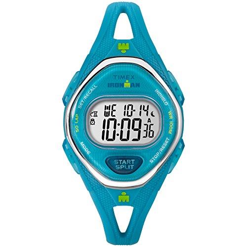 タイメックス 腕時計 レディース TW5M13500 Timex Women's TW5M13500 Ironman Sleek 50 Teal Silicone Strap Watchタイメックス 腕時計 レディース TW5M13500