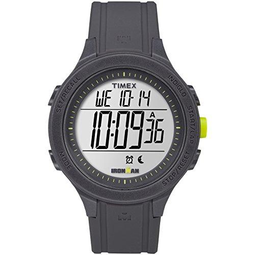タイメックス 腕時計 レディース TW5M14500 【送料無料】Timex Men's TW5M14500 Ironman Essential 30 Black/Lime Silicone Strap Watchタイメックス 腕時計 レディース TW5M14500