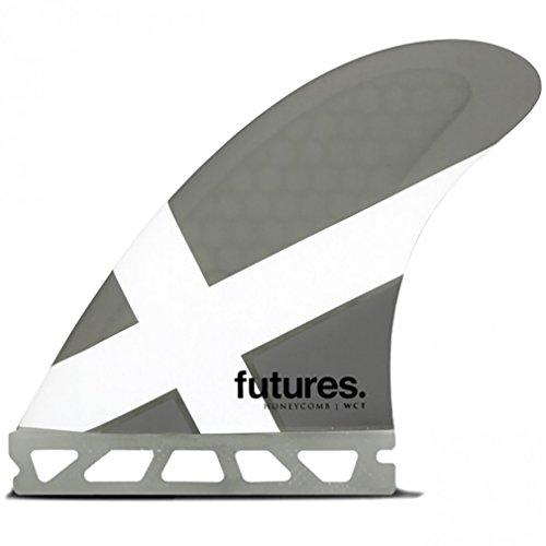 【本物新品保証】 サーフィン フィン マリンスポーツ Futures Fin フィン Fins FWCT Honeycomb Thruster Fin Set, Set, Grey/Whiteサーフィン フィン マリンスポーツ, ロマンチックノイローゼ:4a7a862a --- canoncity.azurewebsites.net
