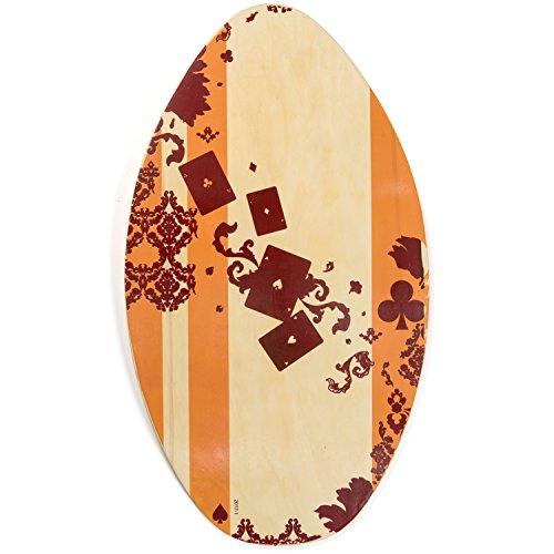 サーフィン スキムボード マリンスポーツ Lucky Bums 322CL35 Wood Skim Boardサーフィン スキムボード マリンスポーツ