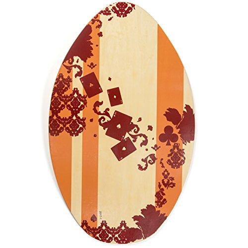 サーフィン スキムボード マリンスポーツ Lucky Bums 322CL30 Wood Skim Boardサーフィン スキムボード マリンスポーツ
